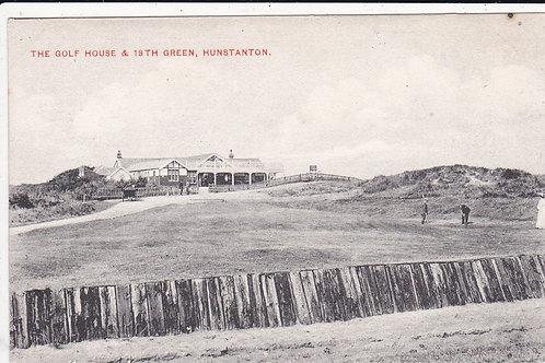 Hunstanton Golf Pavilion(Original) Ref.606 C.1908-12