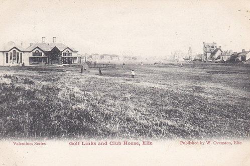 Elie Golf Links & Club House.Ref 941 C.1904