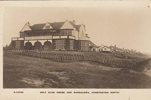 Hunstanton Golf House Ref.1158 C.1913-18