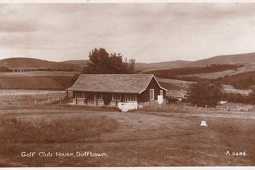 Dufftown Golf Pavilion C.1930s Ref.542a