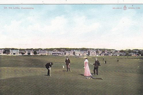 Carnoustie Golf Links Ref.1172 C.1905-10