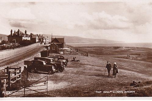 Brora Golf House & Links Ref.962 C.1930s