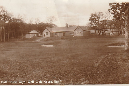 Duff House Royal Golf House Ref.2603 C.pre 1942