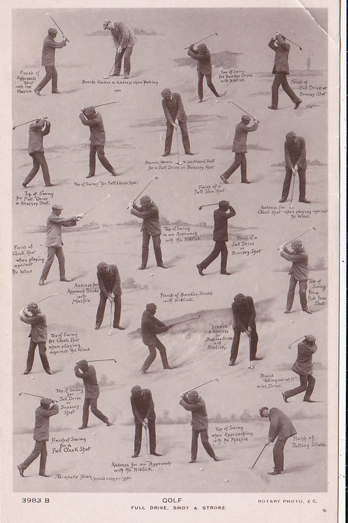 James Braid Swing Sequences.Ref.453 C.1905-10
