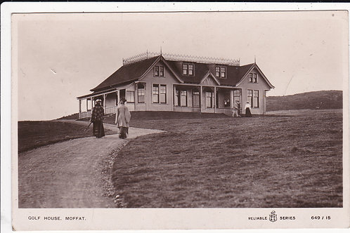 Moffat Golf Club House.Ref.1159 C.1911
