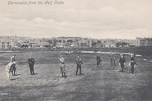 Carnoustie from The Links.Ref 413. C.Early 1900