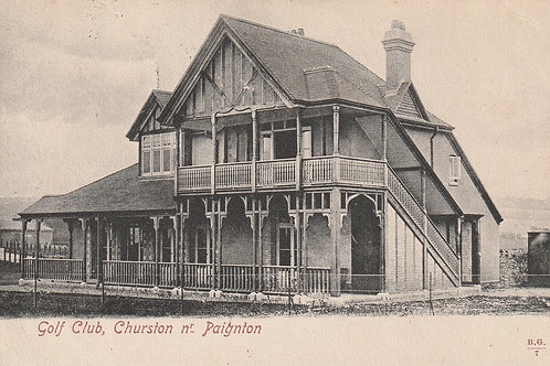 Churston Golf Club Pavilion Ref.2722 C.1908