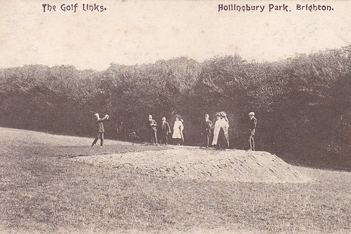 Hollinbury Golf Links,Brighton C.1914-18 Ref.072a