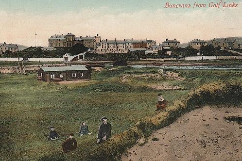 Buncrana Golf Links & Village Ref.2660 C.1950s