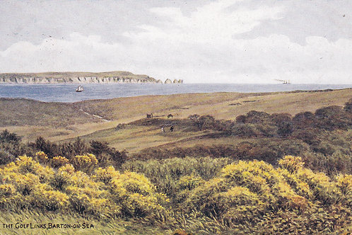 Barton-on-Sea Golf Links.Ref 209.C.1937