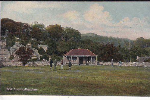 Aberdour Golf Pavilion C.Ea 1900's Ref.1606 C.1910-14