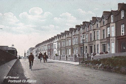 Portrush, Antrim,Golf Terrace.Ref 789. C.Pre 1914