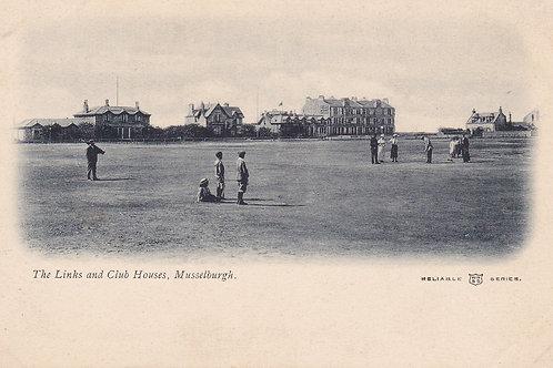 SOLD>Ref.076.Musselburgh Golf Links.Ref 076. C.1902-04
