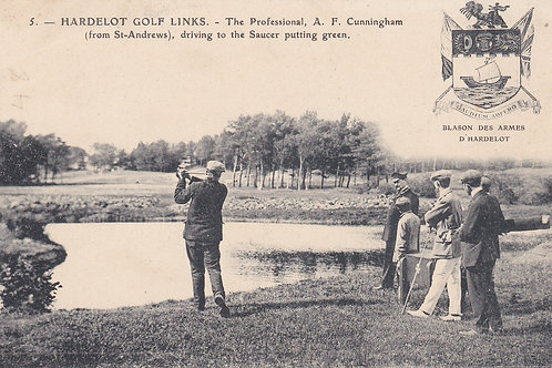 SOLD>Ref.664.Hardelot.A.F.Cunningham Professional  C.1908