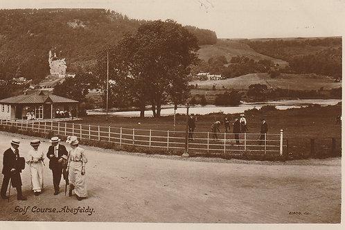 Aberfeldy Golf Pavilion & Tay Ref.2323 C.Pre 1914