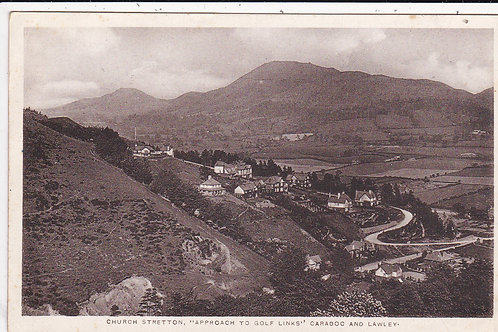 SOLD>Ref.1367.Church Stretton Links Approach Ref.1367 C.1910-20 ?
