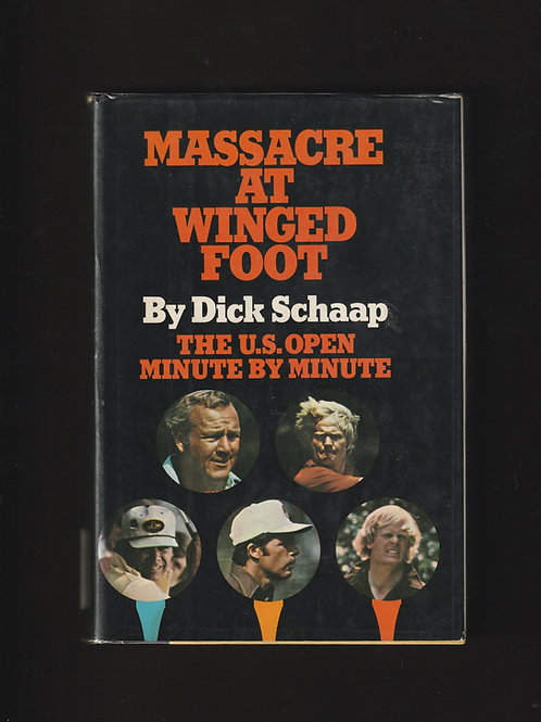 Hale Irwin / Jack Nicklaus Signed Massacre at Winged Foot Ref.GB.