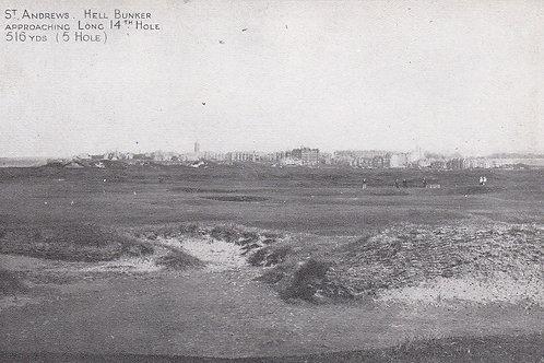 St.Andrews.Hell Bunker Grano Ser.Ref.2141a C.1905