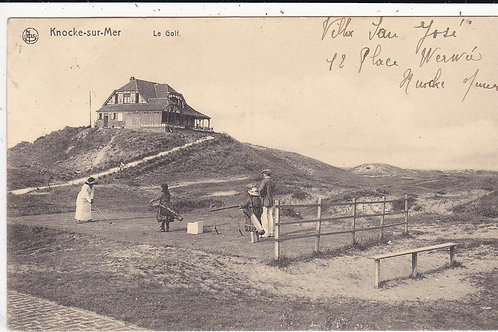 Knocke-sur-mer Le Golf Ref.1380 C.1913