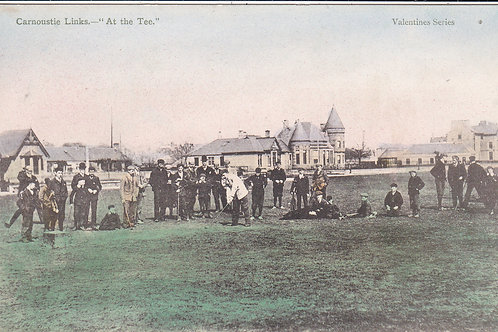 Ben Sayers at the Tee, Carnoustie Links C 1901-5. Ref.61