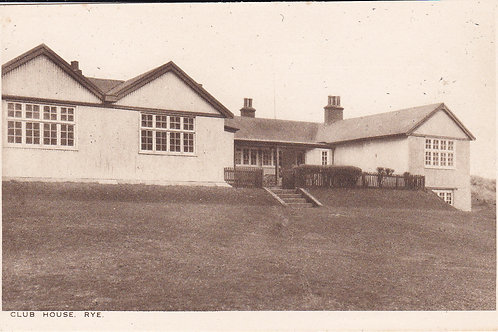 Rye Golf Club House C.ea 1900s Ref.1774