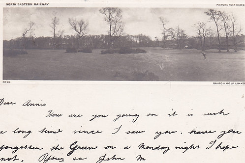 Ganton Golf Links C.1903 Ref.596