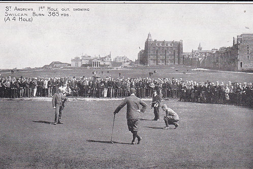 St.Andrews.1st Hole Out Ref.672 C.1903-05