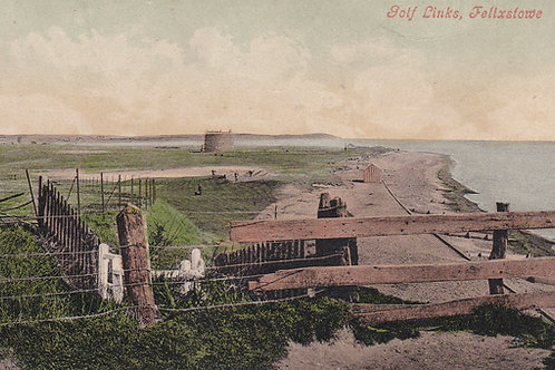 Felixstowe & Mortello Tower.Ref 810. C.Early 1900s