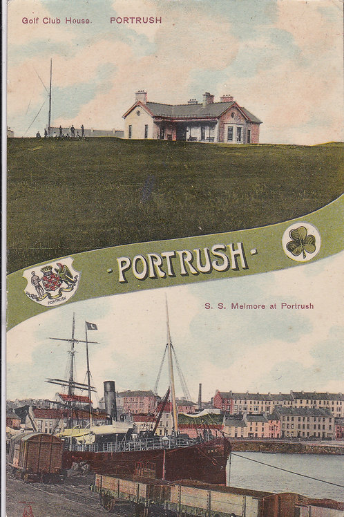 Portrush Golf Club House Ref.1607 C.Ea 1900s19