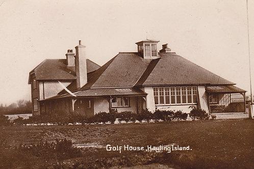 Hayling Island Golf Club House.Ref 805. C.1914