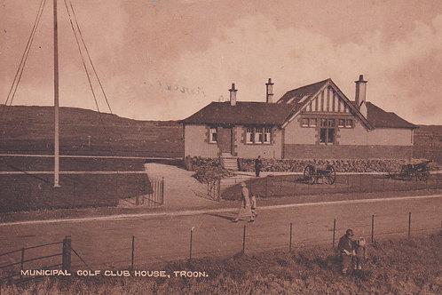 Troon Municipal Golf House C.Ea 1900s Ref.866a