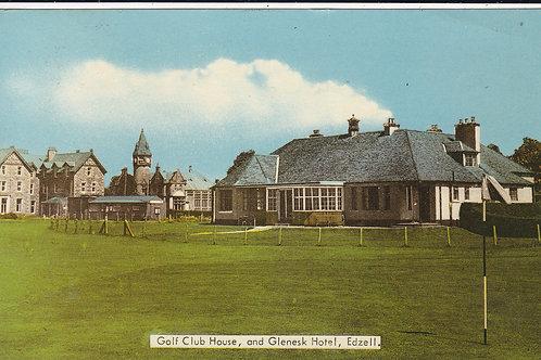 Edzell Golf Club House & Glenesk Hotel Ref.1511 C.1970