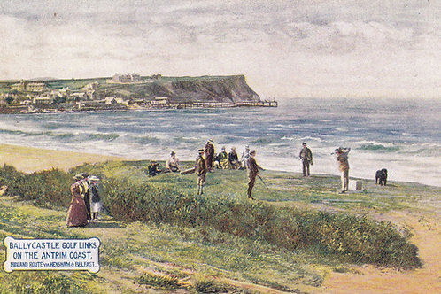 Ballycastle Links,N.Ireland.Ref 560.C.Early 1900s