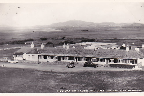 Southerness Golf Links & Cottages.Ref 014. C.1955