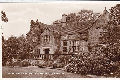 Woodsome Hall (Golf Club) Ref.103 C.1920s