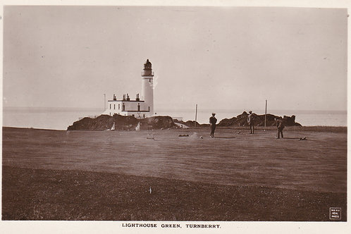 SOLD>Ref.424.Turnberry Lighthouse & Green Ref 424 C.1910s-20s