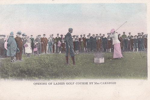 """Dornoch Golf Club """"Opening"""" Ref.1922 C.1906"""