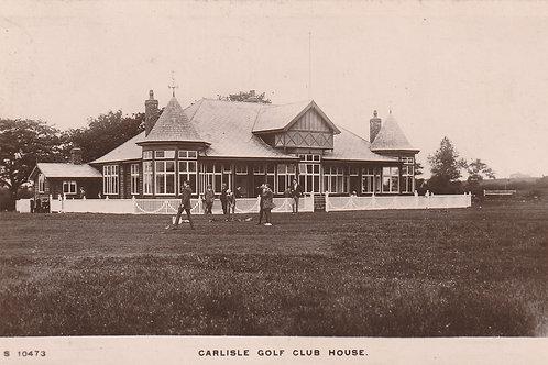 Carlisle Golf Club House Ref.2724 C.pre 1914