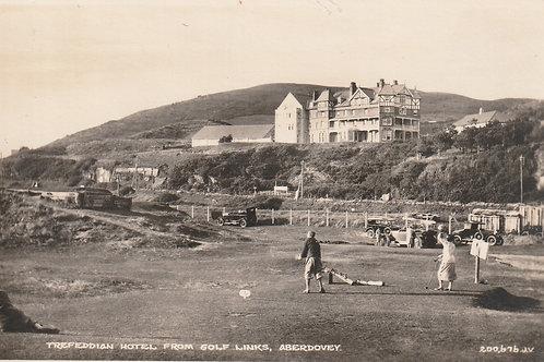 Aberdovey Golf Links & Treffedian Hotel Ref.406a C.1930s