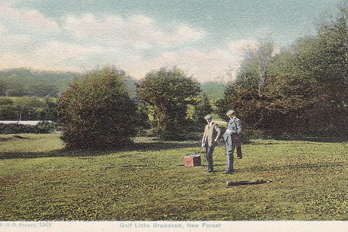 Bramshaw Golf Links,New Forest.Ref 562. C.1900s