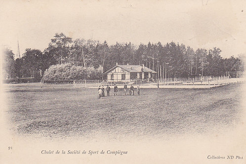 SOLD>Ref.970.Compiegne Club Golf,France. C.Early 1902-04 Ref.970