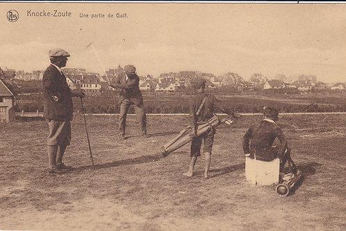 Knocke Zoute Tee Off Ref.1766 C.Ea 1900s