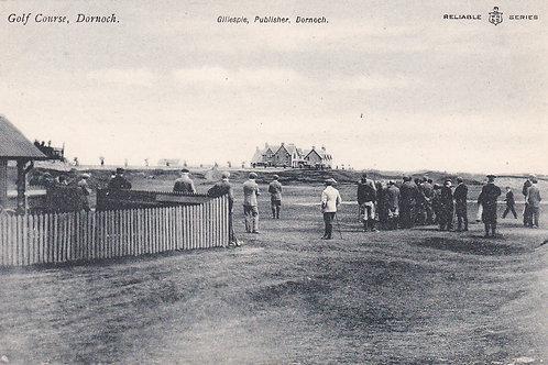 Dornoch Golf Links,Club House Ref.1829 C.Ea 1900