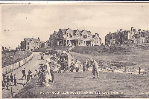 Moray Golf Club (Lossiemouth) Ref 1241 C.1936