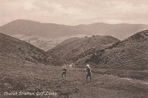 Church Stretton Golf Links Ref.2812 C.pre 1914