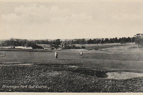 Brookmans Park Golf Course Ref.600a C.1930s