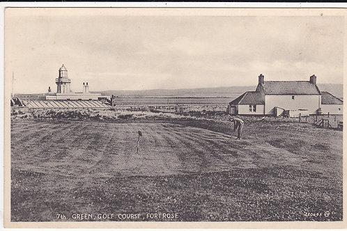 Fortrose Golf Links & Lighthouse Ref.934 C.1930