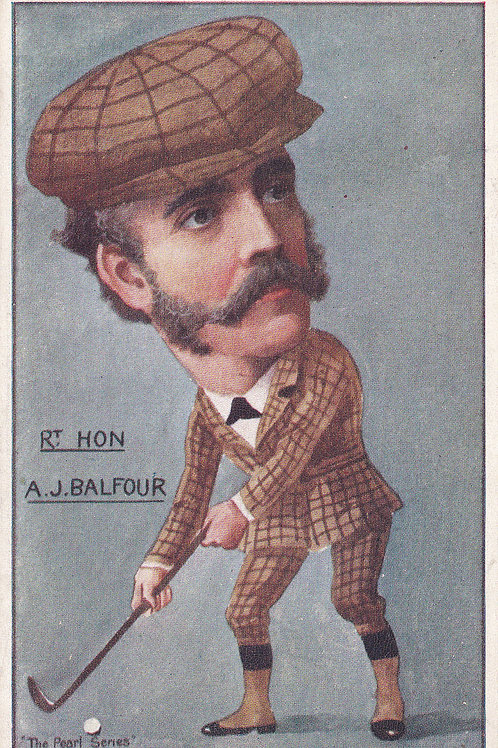 A.J Balfour,Prime Minister. Ref.189 C.1902-05