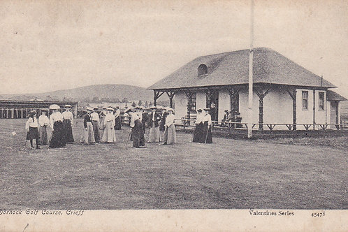 Dornock Ladies Golf House,Perth.Ref 145. C.1905