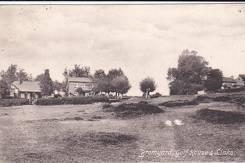 Bromyard Golf Club House Ref.1527 C.pre 1906